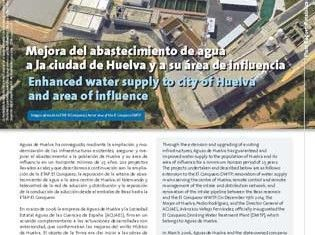 Enhanced water supply to city of Huelva and area of influence