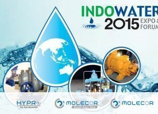 Presence of Molecor at Indowater 2015,the fast growing water and wastewater industry forum