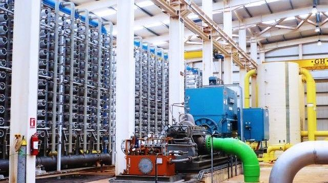 Abengoa is awarded the construction of a desalination plant